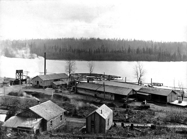 McMaster Shingle Mill, circa 1909 (From the collection of Priscilla Droge)